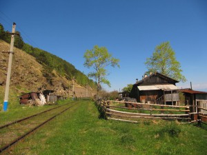 Дома на 129-м километре КБЖД. Фото: centfrancs / Panoramio.com