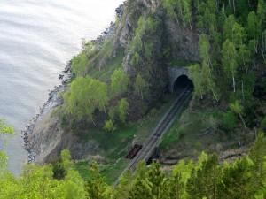 КБЖД, туннель Шарыжалгай-3. Фото: centfrancs / Panoramio.com