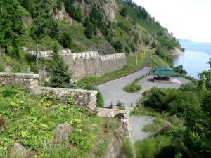 Тоннели №18 и 18-бис - вид сверху. Киркирей-3. Фото: OzAD / Panoramio.com