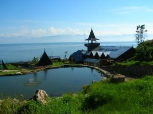 "Турбаза ""Дача Комарова"" (база отдыха РЖД). Падь Шарыжалгай. Фото: Bajkal / Panoramio.com"