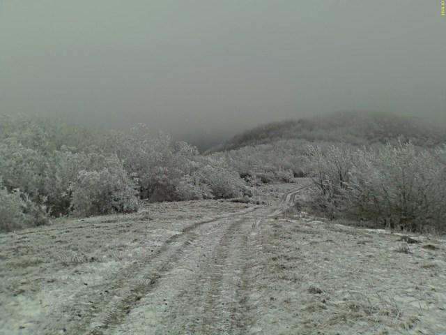 Местность в окрестностях Верхнебаканского зимой. Фото: panoramio.com / lexxxi