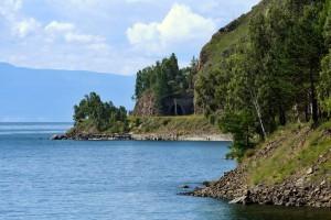 Один из туннелей КБЖД - вид с озера. Фото: Олег Перов / Panoramio.com