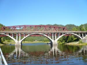 Два моста через реку Большая Половинная. Фото: Хест1994 / Panoramio.com