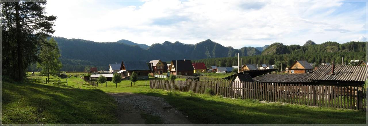 Алтайский посёлок Аскат. Фото: Яндекс.Фотки / semanton77
