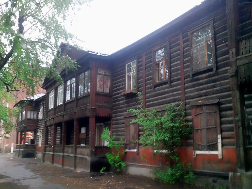 Иркутские дома