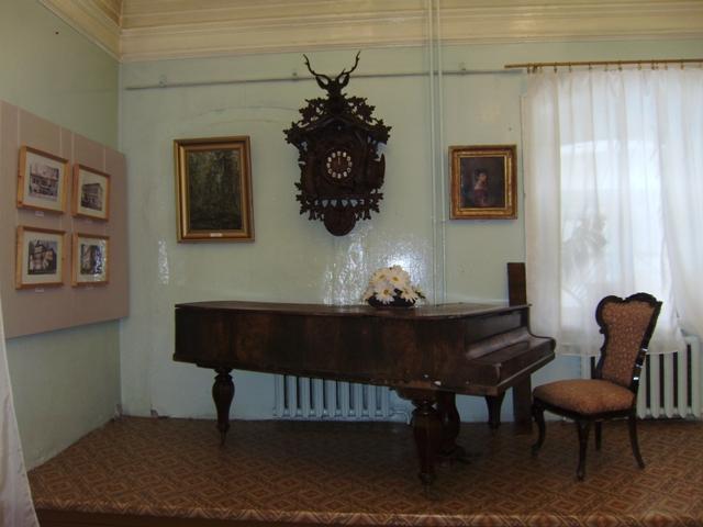 Старинные часы в музее Кологрива. Фото: kostromamuseum.ru
