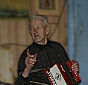 Виталий Павлович Лебедев - баянист из Шаблово