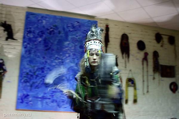 Шаманка Вера Сажина. Фото: peremeny.ru / Ольга Молодцова
