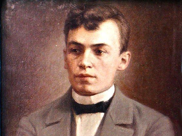Портрет Ефима Честнякова в молодости