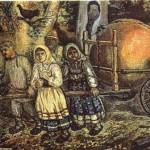 """""""Щедрое яблоко"""". Картина Ефима Честнякова / chestnyakov.ru"""