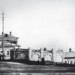 Ограда Лютеранского кладбища (не сохранилось). Фото: irkipedia.ru