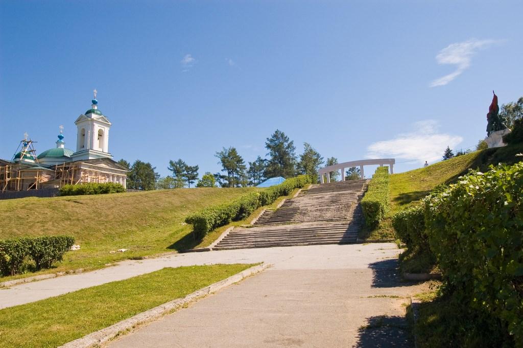 Парк на месте Иерусалимского кладбища Иркутска. Фото: Валерий Панфилов / irkipedia.ru