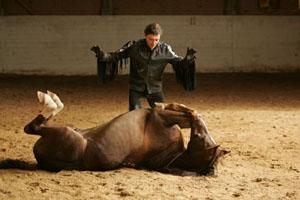 Невзоров и его конь. Фото: Фото: Валентин Илюшин