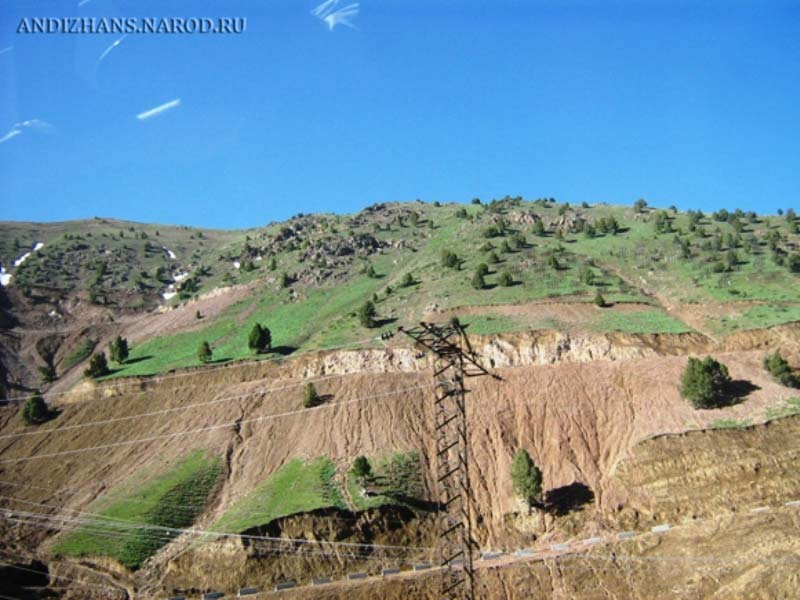 Перевал Камчик (район Андижана, Узбекистан). Фото: andizhans.narod.ru