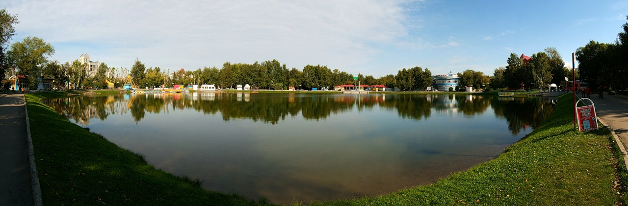 Томск, Белое озеро. Фото: Яндекс.Фотки / veshurpet