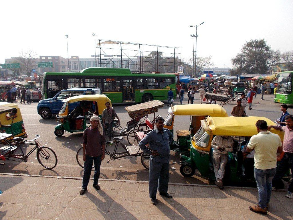 Моторикши в Нью-Дели