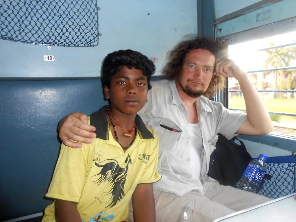 Индия, по дороге в Мумбай
