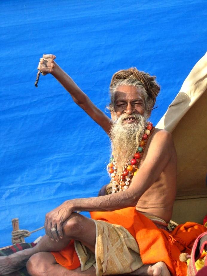 Индийский монах Амар Бхарти. Фото: terra-z.ru