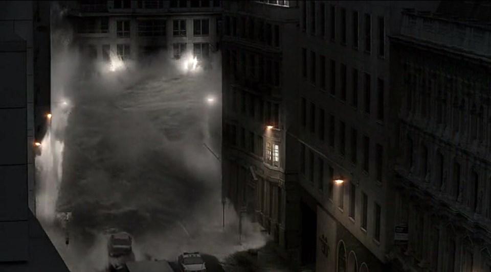 """Кадр из фильма """"Наводнение: Ярость Стихии"""" (2007)"""