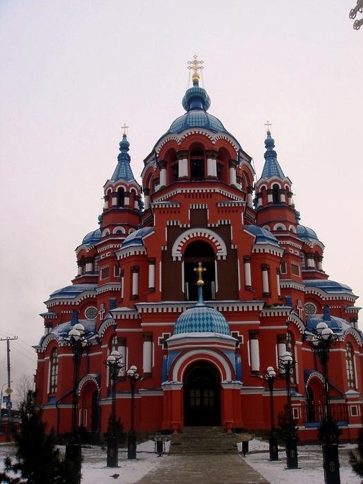 Храм Казанской Богородицы в Иркутске. Фото:  Вячеслав Пушкарёв