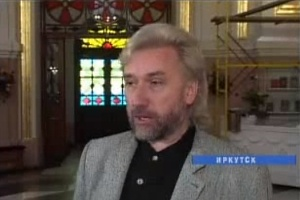 """Николай Натяганов. Кадр """"Вести-Иркутск"""", 2010 г."""